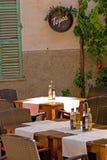 餐馆塔帕纤维布 图库摄影