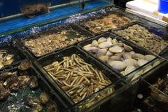 餐馆海鲜 库存照片