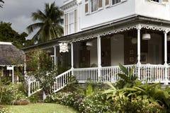餐馆的门面,牙买加 免版税库存照片