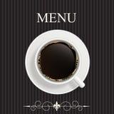 餐馆的,咖啡馆,棒菜单 库存图片