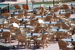餐馆表 免版税库存图片