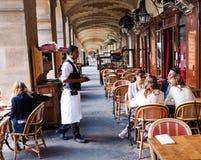 巴黎餐馆 免版税库存照片