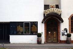 餐馆Braustuebl达姆施塔特 库存图片