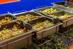 餐馆La Choza del Chef在瓦哈卡 免版税库存图片