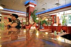 餐馆s汤姆 库存图片
