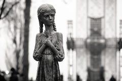 1923-1933年饥荒种族灭绝的受害者的记念我 图库摄影