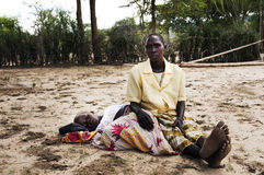 饥荒 免版税库存图片