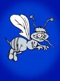 饥饿的蚊子 皇族释放例证