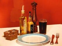 饭桌 免版税图库摄影