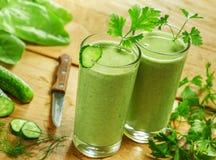 饮料健康蔬菜 免版税库存图片