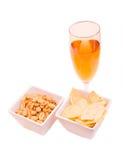 饮料和快餐 免版税图库摄影