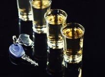 饮料和驱动 免版税库存照片