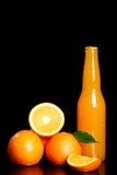 饮料新鲜的桔子 免版税图库摄影