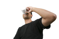 饮料杯子 免版税库存照片