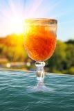 饮料玻璃 免版税图库摄影