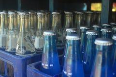 饮料瓶 免版税库存照片