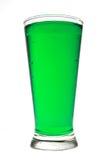 饮料绿色 库存照片