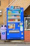 饮料自动售货机在东京,日本 免版税库存图片