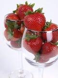 饮料草莓 免版税库存照片
