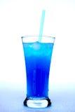 饮料蓝色 免版税库存照片