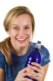 饮料身体好水 免版税库存图片