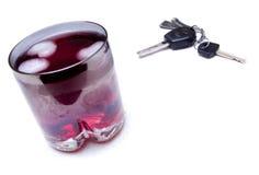 饮料驱动器 免版税库存照片
