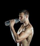 饮用的体操水 库存图片