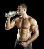 饮用的体操水 免版税图库摄影