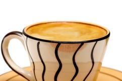 饮用的浓咖啡 库存图片