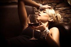 饮用的问题 图库摄影