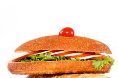饮食三明治 库存图片