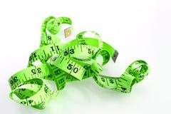 饮食公尺磁带 免版税库存图片
