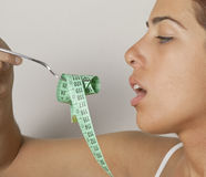 饮食减肥 免版税库存图片