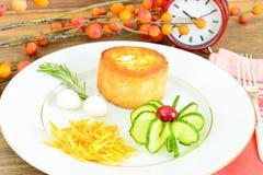 饮食和健康吃:早餐用鸡蛋 库存图片