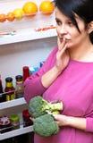 饮食怀孕 免版税图库摄影