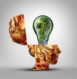 饮食想法 免版税库存图片