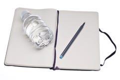 饮食日记帐 库存照片