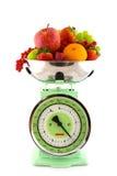 饮食果子缩放比例 图库摄影