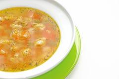 饮食汤 免版税图库摄影
