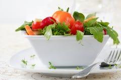 饮食沙拉 库存照片