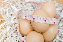 饮食用鸡蛋 库存照片