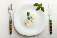 饮食的午餐 免版税图库摄影
