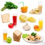 饮食的bioproducts 免版税库存图片