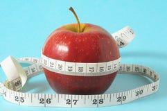 饮食苹果计算机 免版税库存图片