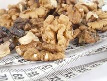 饮食螺母 免版税库存图片