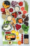 饮食超级食物 免版税库存照片