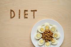 饮食食物标志 免版税库存图片