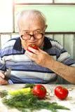 饮食素食主义者 免版税图库摄影