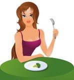 饮食素食主义者 库存照片