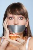 饮食 免版税库存照片